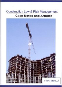 construction law & risk management